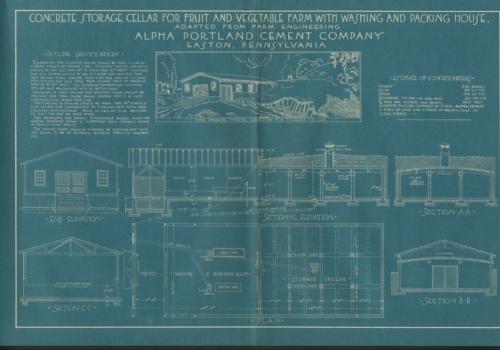 Alpha Portland Cement Company Blueprints and Concrete Plans