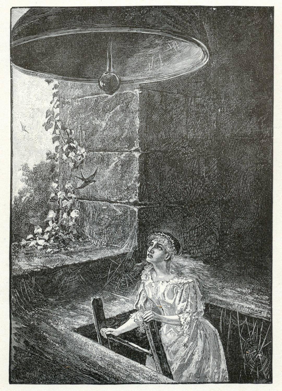 Bessie reaches the bell