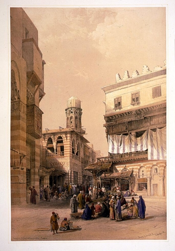 Bazaar of the coppersmiths - Cairo