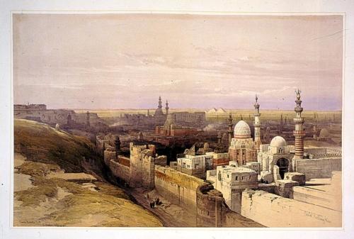 Cairo looking west