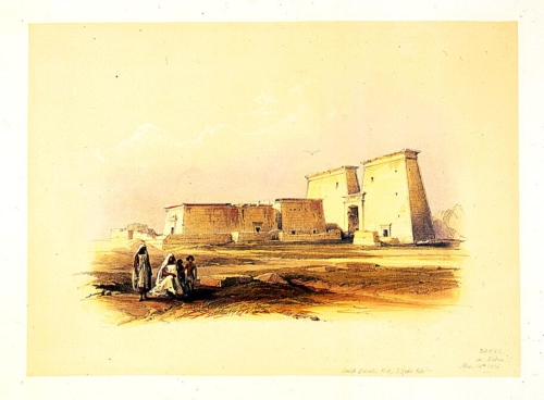 Dakke in Nubia Nov 14th 1838
