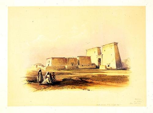 Dakke in Nubia Nov 14th 1838