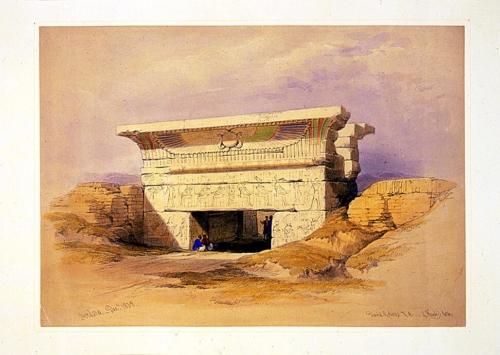 Dendera December 1838