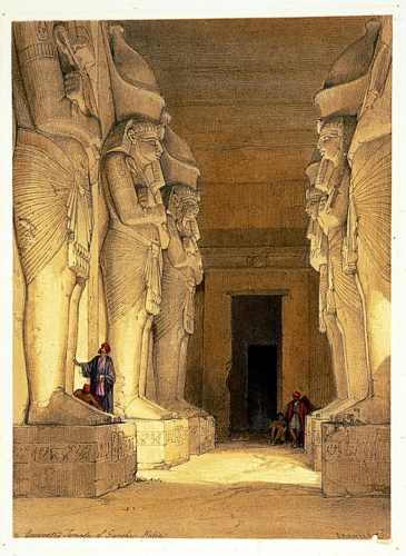 Excavated Temple of Gyrshe_ Nubia
