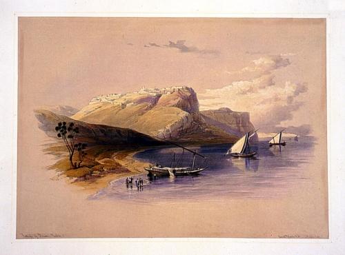 Fortress of Ibrim--Nubia