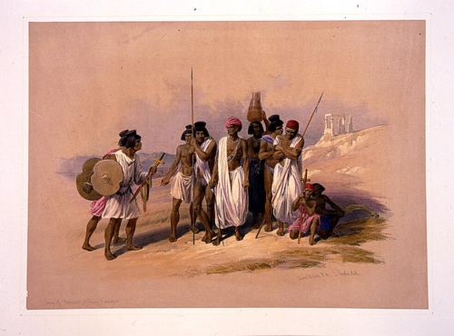 Group of Nubians--Wady Kardassy