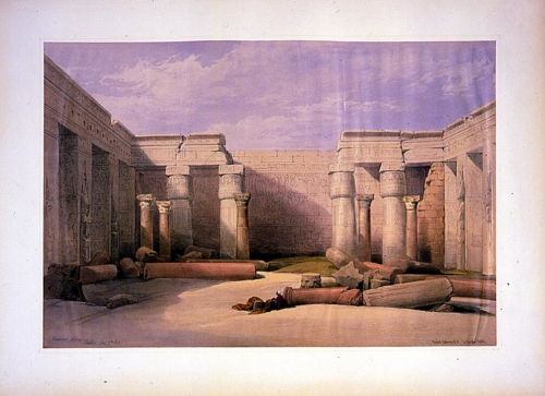 Medinet Abou_ Thebes