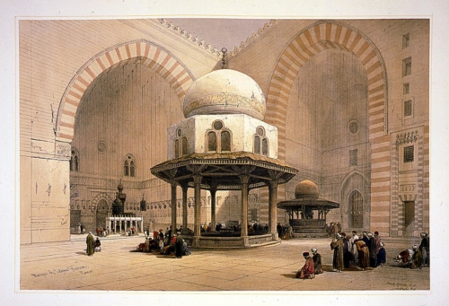 Mosque of Sultan Hassan_ Cairo
