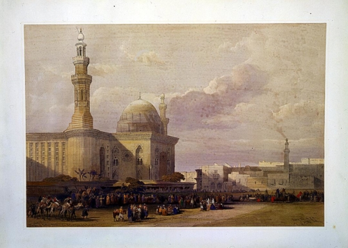 Mosque of Sultan Hassan from the Great Square of the Rumeyleh
