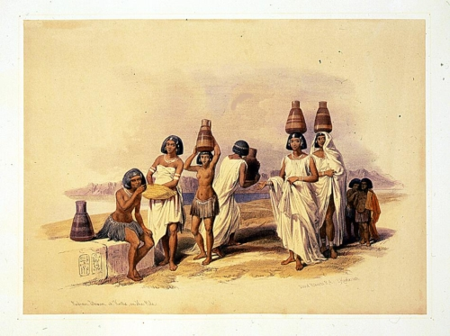 Nubian Women at Korti_ on the Nile