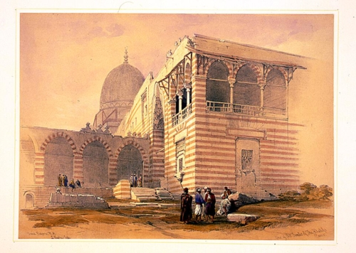 One of the tombs of the khalifs Cairo