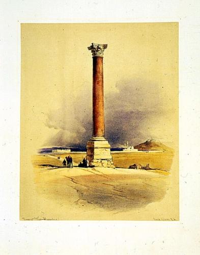 Pompey_s pillar_ Alexandria