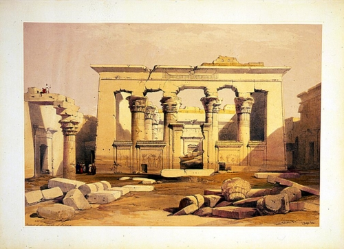 Portico of the temple of Kalabshe