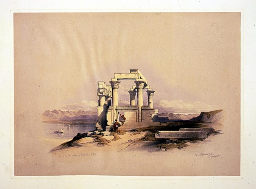 Ruins of the Temple of Kardeseh_ Nubia