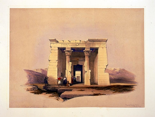 Temple of Dandour--Nubia
