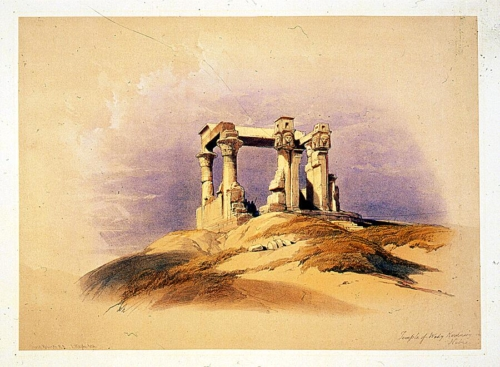 Temple of Wady Kardassy in Nubia
