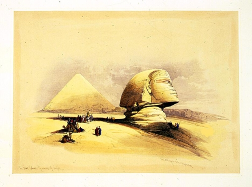 The Great Sphinx_ pyramids of Girzeh