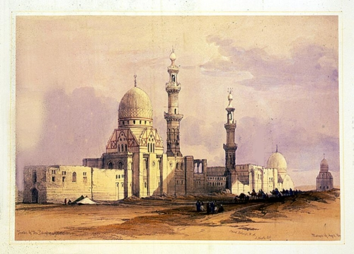 Tombs of the caliphs--Cairo