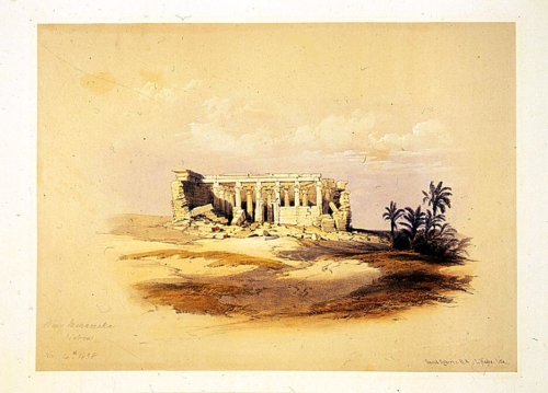 Wady Maharraka Nubia Nov 14th 1838