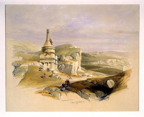 Absaloms Pillar Valley of Jehoshaphat