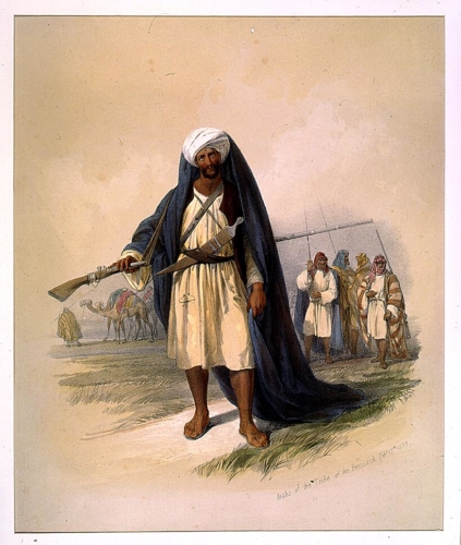 Arabs of the Tribe of the Benisaid Feby 17th 1839