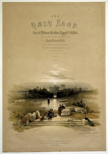 Baalbec from the Fountain May 7th 1839
