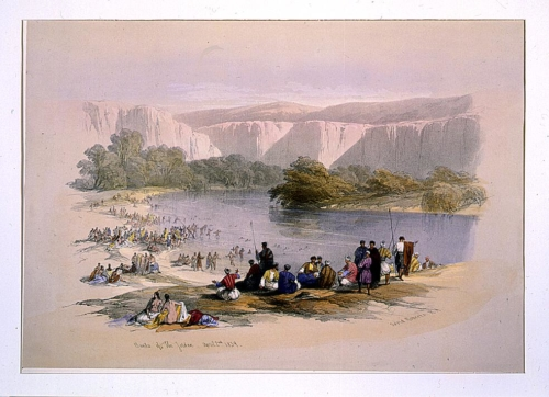 Banks of the Jordan April 2nd 1839