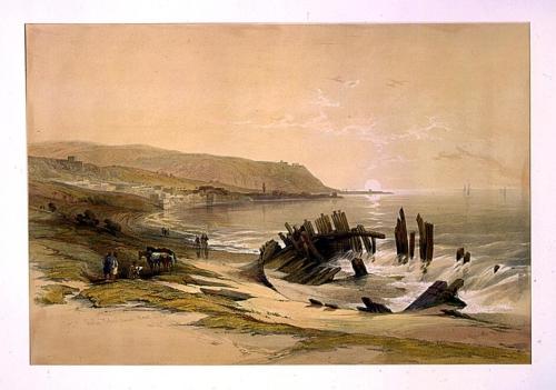 Caiphas looking towards Mount Carmel April 24th 1839