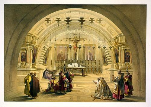 Calvary_ Jerusalem April 10th 1839