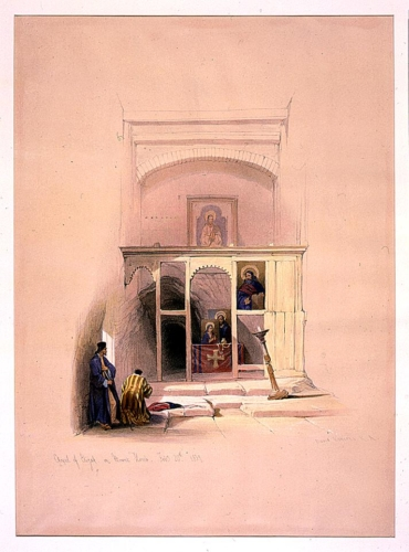 Chapel of Elijah on Mount Horeb Feby 20th 1839