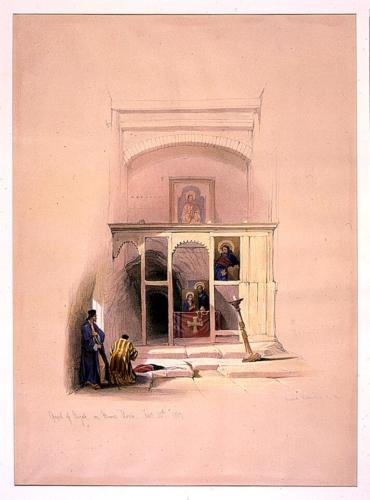 Chapel of Elijah on Mount Horeb Feby 20th 1839