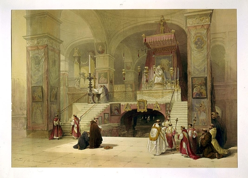 Chapel of the Annunciation Nazareth April 28th 1839