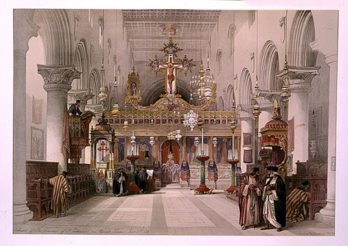 Chapel of the convent of Saint Catherine on Mount Sinai Feby 21st 1839