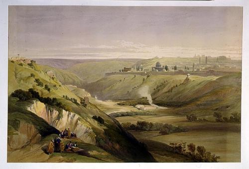 Church of the Purification Jerusalem April 5th 1839