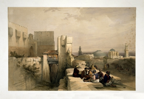Citadel of Jerusalem April 19 1841