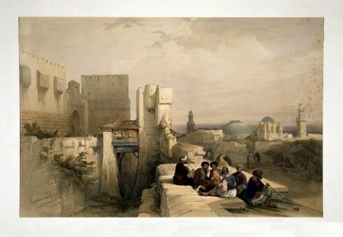 Citadel of Jerusalem April 19 1841