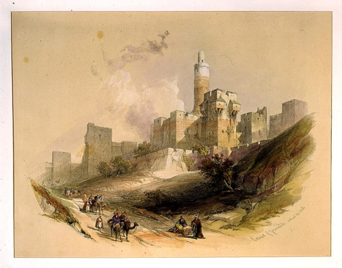 Citadel of Jerusalem without the walls