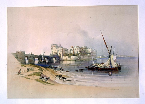 Citadel of Sidon April 28th 1839