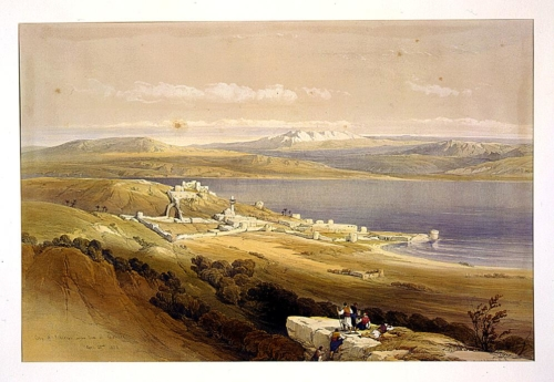 City of Tibarias _i_e__ Tiberias_ on the Sea of Galilee April 22nd 1839