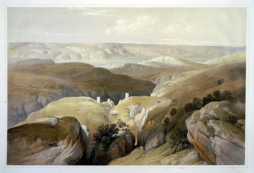 Convent of S_ Saba_ April 1839