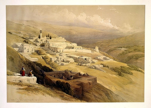Convent of the Terra Santa Nazareth April 21st 1839