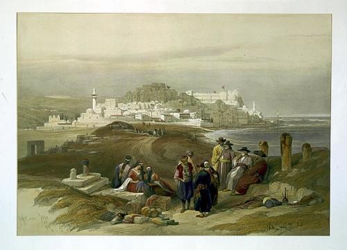 Jaffa ancient Joppa April 16th 1839