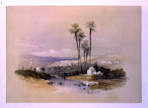 Jenin ancient Jezreel April 19th 1839