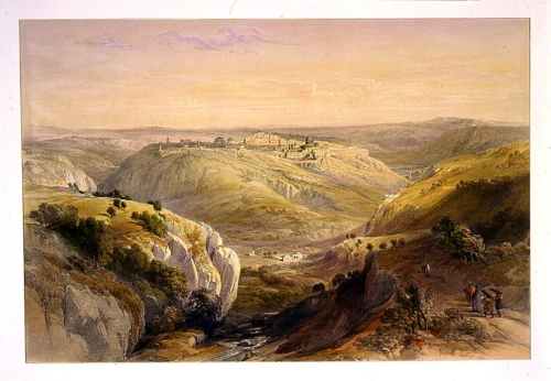 Jerusalem from the south April 12th 1839
