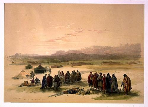 Mount Seir Wady el Ghor March 4th 1839