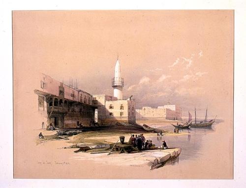 Quay at Suez Febrary 11th 1839