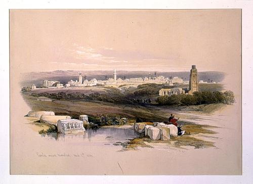 Ramla ancient Arimathea March 27th 1839