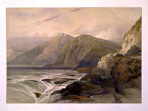 Ras el Abiad coast of Syria April 26th 1839