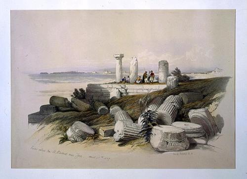 Ruins called Om El Hamed near Tyre April 25th 1839