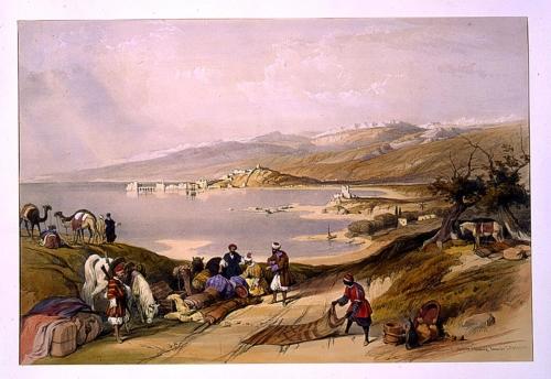 Sidon looking towards Lebanon